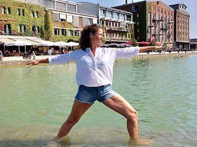 Yoga am Hafen Münster